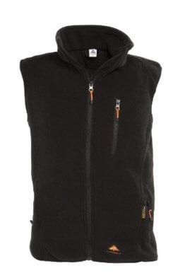 Alpenheat Fire-Fleece schwarz Beheizte Fleece Weste Weste zum Drunterziehen, AJ4G, Größe M - 1